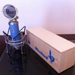 My Blue Bluebird microphone